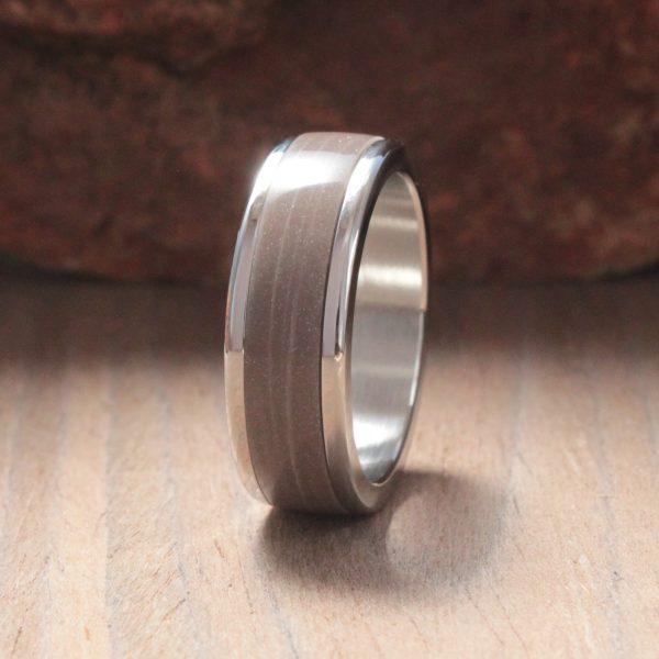 Coco Prima Acrylic Stone Inlay Ring