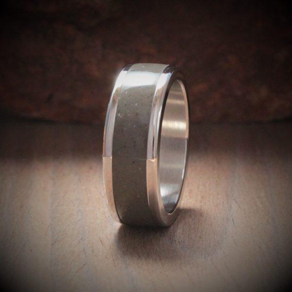 Medea Acrylic Stone Inlay Ring
