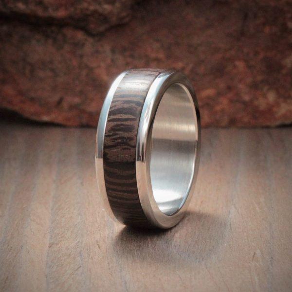 Panga Panga Wood Inlay Ring