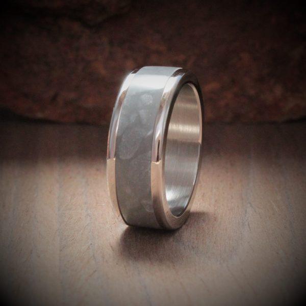 Pearl Austin Acrylic Stone Inlay Ring