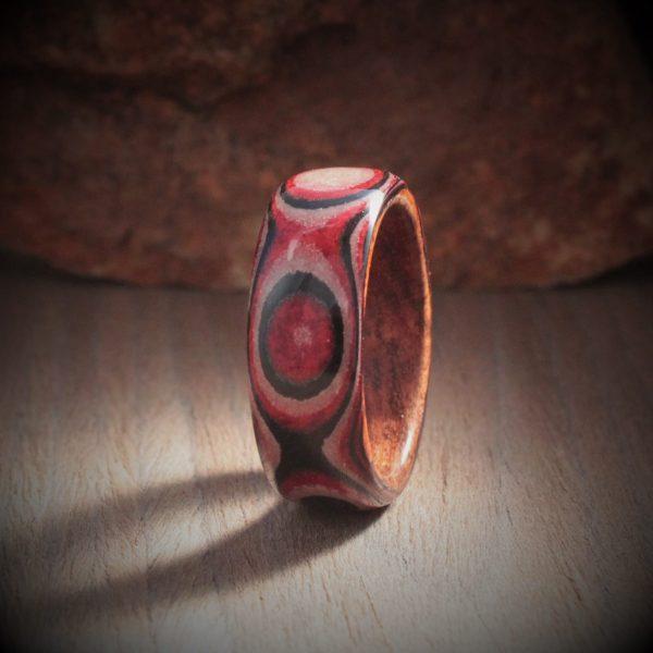 Paper Ring - Red Penta