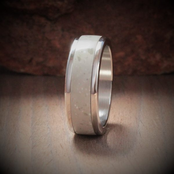 Willow Acrylic Stone Inlay Ring