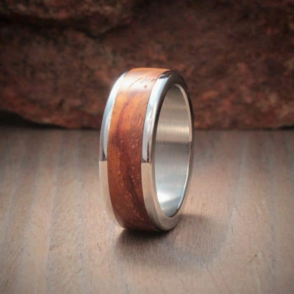 Wood Ring Inlay - Kiaat