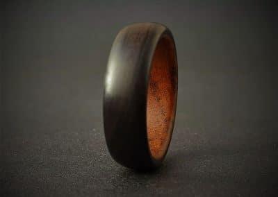 Blackwood & Teak Ring