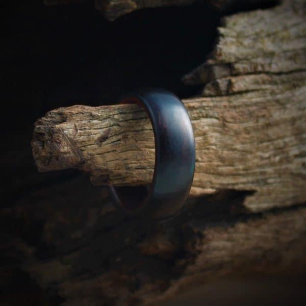 Blackwood & Teak Wood Ring