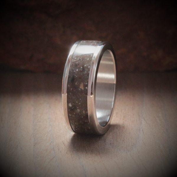 Canyon Acrylic Stone Inlay Ring