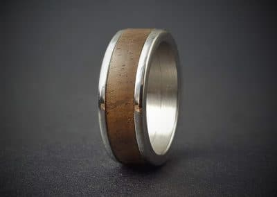 Chacate Wood Inlay Ring