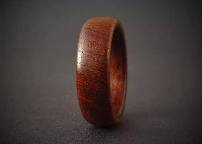 Kiaat and Teak wood ring