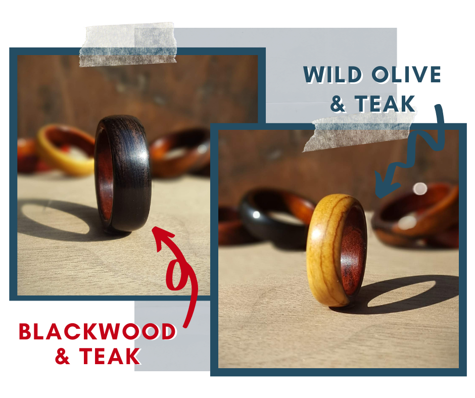 More products wood rings
