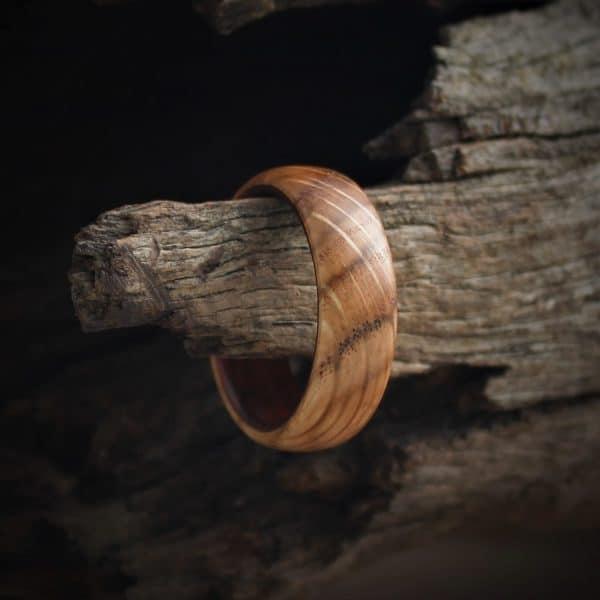 Oak and Teak Wood ring